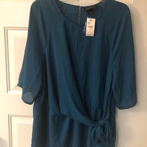 Lane Bryant New w/tags tie front blouse